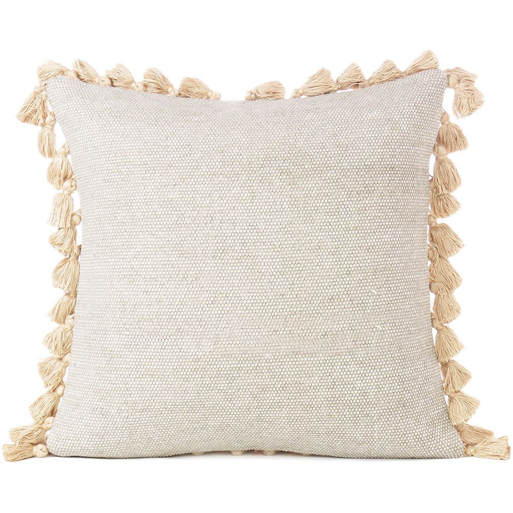 Cream Beige Colorful Decorative Cotton Dhurrie Cushion Couch Tels Pillow Throw Cover 16