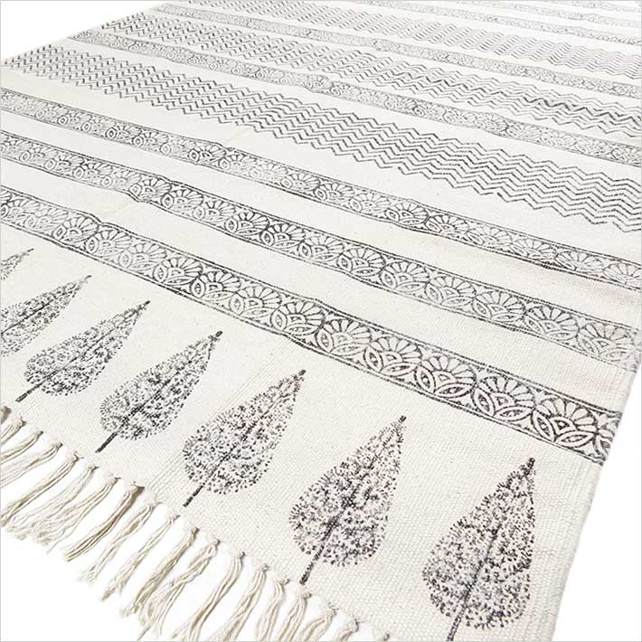 Area Accent Dhurrie Boho Chic Rug