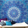 Star Mandala Hippie Tapestry Wall Hanging Bohemian Boho Bedspread - Large/Queen