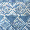 "Indigo Blue Overdyed Block Print Cushion Floor Couch Sofa Decorative Pillow Throw Colorful Cover-20"" 2"