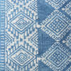 "Indigo Blue Overdyed Block Print Cushion Floor Couch Sofa Decorative Pillow Throw Colorful Cover-20"" 4"