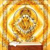 Mandala Hippie Ganesha Tapestry Boho Bohemian Wall Hanging Bedspread - Large/Queen