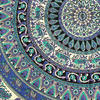 Black Mandala Hippie Wall Hanging Tapestry Bedspread-Queen/Double 5