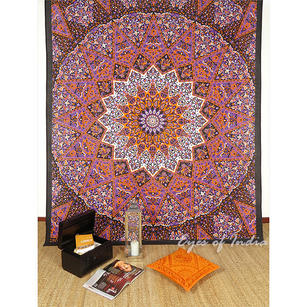 Double Queen   Hippie Indian Mandala Tapestry Bedspread Beach Boho Dorm Bohemian