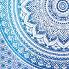 Blue White Ombre Mandala Wall Hanging Tapestry Bedspread Beach Bohemian-Twin/Queen 6