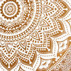 Brown White Mandala Ombre Wall Hanging Tapestry Bedspread Beach-Twin/Queen 6