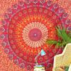 Red Elephant Mandala Tapestry Bedspread Beach Blanket Dorm Bohemian Boho Small/Large, Twin/Queen 2