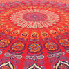 Red Elephant Mandala Tapestry Bedspread Beach Blanket Dorm Bohemian Boho Small/Large, Twin/Queen 7