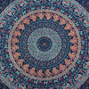 Blue Hippie Mandala Tapestry Wall Hanging Picnic Bohemian Dorm Boho Small/Large, Twin/Queen 4