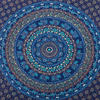 Blue Elephant Mandala Tapestry Bedspread Beach Blanket Dorm Bohemian Boho Small/Large, Twin/Queen 4