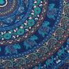 Blue Elephant Mandala Tapestry Bedspread Beach Blanket Dorm Bohemian Boho Small/Large, Twin/Queen 5