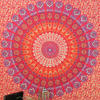 Red Elephant Mandala Tapestry Bedspread Beach Blanket Dorm Bohemian Boho Small/Large, Twin/Queen 4