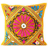 """Yellow Colorful Decorative Patchwork Sofa Throw Couch Pillow Cover Cushion Bohemian Boho - 16"""" 1"""