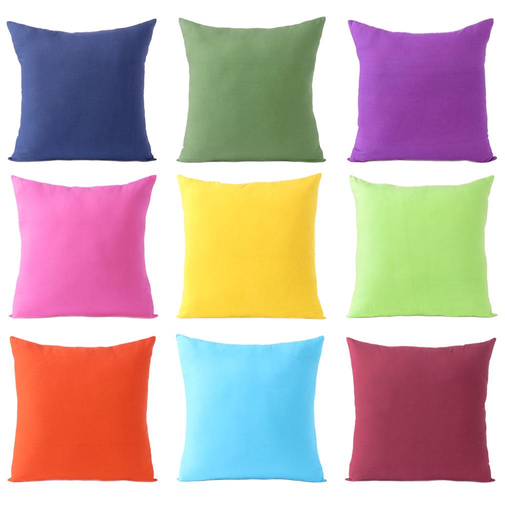 Cuscini Colorati Da Divano.Cotone Colorato Decorativo Cuscino Divano Copriletto Custodia