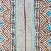 "Burgundy Blue Decorative Fringe Tassel Pillow Boho Couch Sofa Maroon Throw Bohemian Colorful Cushion Cover  - 20"" 2"