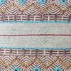 "Burgundy Blue Decorative Fringe Tassel Pillow Boho Couch Sofa Maroon Throw Bohemian Colorful Cushion Cover  - 20"" 4"