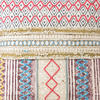 "White Colorful Decorative Fringe Tassel Pillow Cotton Cushion Couch Sofa Throw Bohemian Colorful Boho Cover  - 20"" 4"
