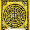 Colorful Hippie Mandala Boho Elephant Tapestry Bedspread Wall Hanging - Large/Queen 2