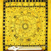 Mandala Zodiac Horoscope Tapestry Bohemian Wall Hanging Bedspread - Large/Queen 2