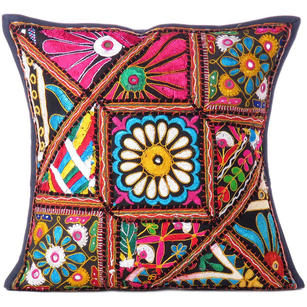 Patchwork Colorful Decorative Couch Sofa Pillow Cover Case Cushion Throw Boho Ch
