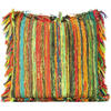 Yellow Decorative Chindi Cushion Bohemian Boho Sofa Throw Couch Pillow Cover 5