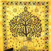 Elephant Hippie Tree of Life Boho Tapestry Wall Hanging Bedspread - Queen/Double 2