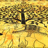 Elephant Hippie Tree of Life Boho Tapestry Wall Hanging Bedspread - Queen/Double 4