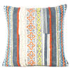 "20"" Blue Orange Colorful Decorative Boho Fringe Tassel Pillow Sofa Cushion Cover 2"