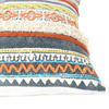 "20"" Blue Orange Colorful Decorative Boho Fringe Tassel Pillow Sofa Cushion Cover 4"