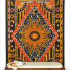 Sun and Moon Hippie Boho Tapestry Bohemian Bedspread Wall Hanging - Twin/Single