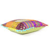 "Colorful Kantha Brocade Throw Sofa Couch Cushion Boho Bohemian Pillow Cover - 16"" 5"