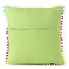 "Colorful Kantha Brocade Throw Sofa Couch Cushion Boho Bohemian Pillow Cover - 16"" 6"