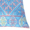 """Turquoise Teal Embroidered Swati Bolster Long Lumbar Colorful Couch Pillow Cushion Cover - 14 X 32"""" 3"""