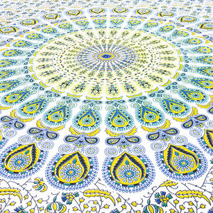 Indian Hippie Mandala Tapestry Art Bedspread Beach Dorm Bohemian Accent Boho Chi