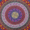 Multicolored Boho Mandala Hippie Tapestry Bohemian Indian Bedspread - Large/Queen 4