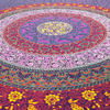 Multicolored Boho Mandala Hippie Tapestry Bohemian Indian Bedspread - Large/Queen 5