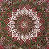 Large Queen   Red Hippie Indian Mandala Tapestry Bedspread Be 6
