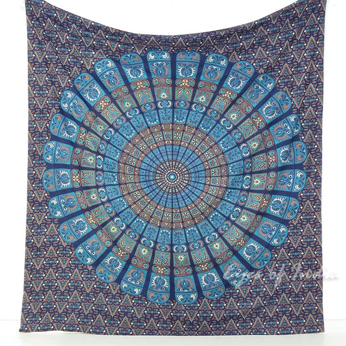 Indian Elephant Mandala Tapestry Hippie Wall Hanging
