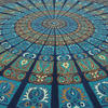 Large Queen Blue Indian Elephant Mandala Tapestry Wall Hanging Picnic Bohemian A 5