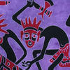 Purple Tribal Wall Hanging Hippie Boho Tapestry Bohemian Bedspread - Queen/Double 2