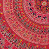 "Red Roundie Beach Mat Picnic Spread Mandala Hippie Bohemian Tapestry Boho Throw - 80"" 6"