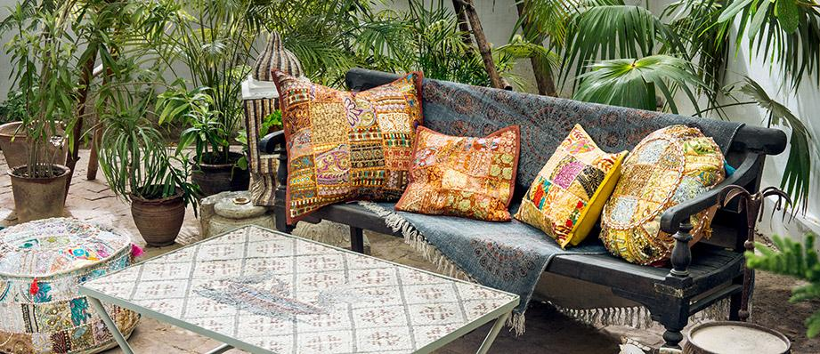 patchwork-pillows-boho-pillow-bohemian-decor