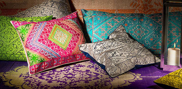 Our Uniquely Handcrafted Swati Pillows