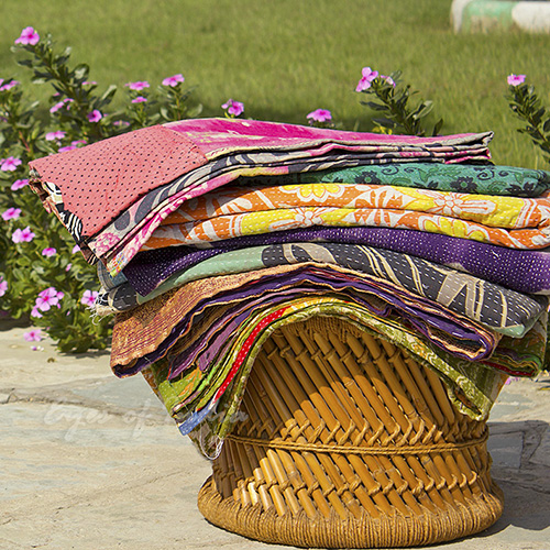 Why Do We Love Kantha Quilts