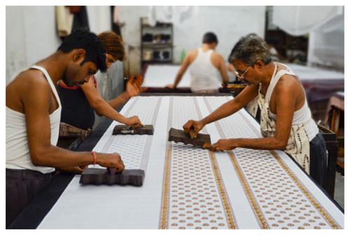 Hand-Block Printing, Rajasthan