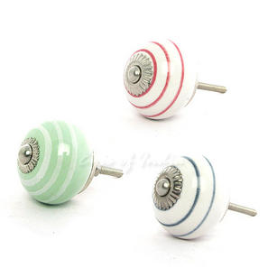Ceramic Dresser Cupboard Cabinet Door Decorative Shabby Chic Knobs Pulls