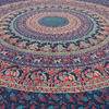 Hippie Mandala Elephant Tapestry Bohemian Bedspread Boho Wall Hanging - Large/Queen 4