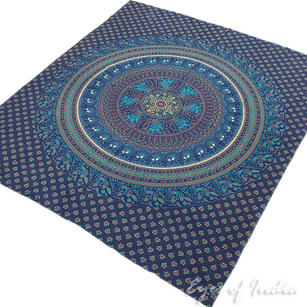 Hippie Boho Elephant Mandala Tapestry Wall Hanging Bedspread - Large/Queen