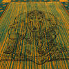 Batik Ganesha Elephant Tapestry Hippie Boho Wall Hanging Bedspread - Small/Twin 2