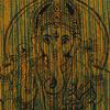 Batik Ganesha Elephant Tapestry Hippie Boho Wall Hanging Bedspread - Small/Twin 3